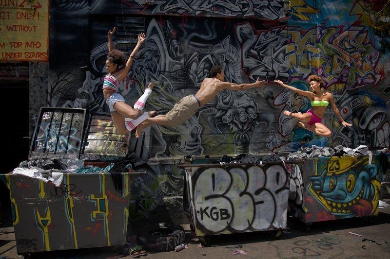 Danza urbana.