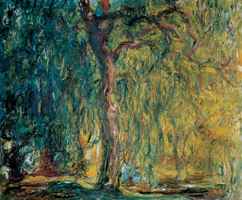 """Sauce llorón"", Claude Monet"