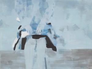 Blue Skirt - Pintura angustios de Moy Huan