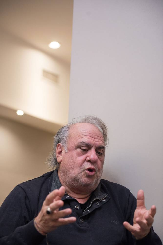 Jorge Alemán. Fotografía: Diego Grispo.