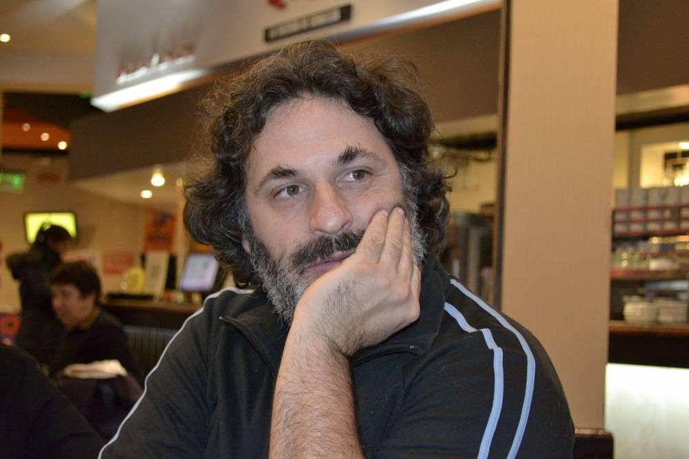 Hernán Ronsino. Fotografía: Ana Blayer.