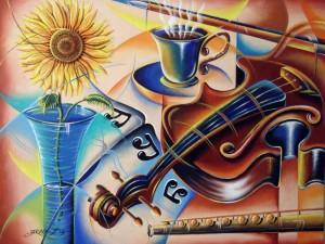 Notas clásicas de un café - Jaruvy Figueroa Alba