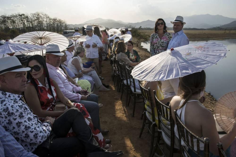Los novios se casaron al tercer día, tras dos días de fiesta en la hacienda Camburito, en Acarigua, entre el 15 y el 17 de febrero de 2019.