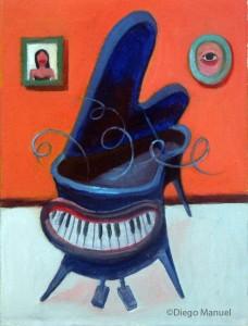 """""""Piano mascota"""" de Diego Manuel"""