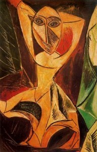 """La bailarina de avignon""de Pablo Picasso"
