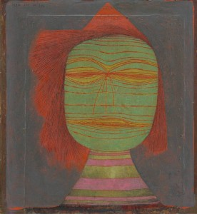 Paul Klee - Actor's Mask 1924