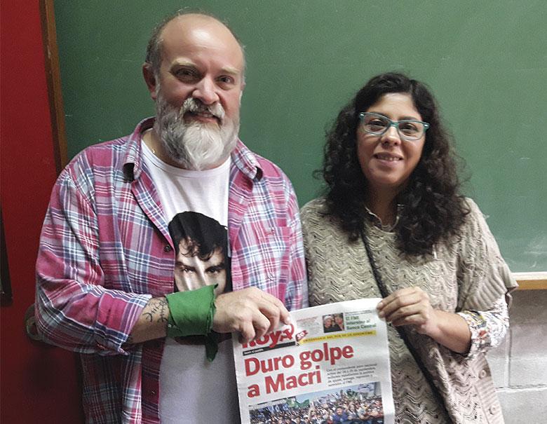 Sergio Maldonado y Andrea Antico.