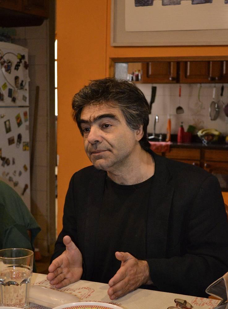 Diego Tatián. Fotografía: Ana Blayer