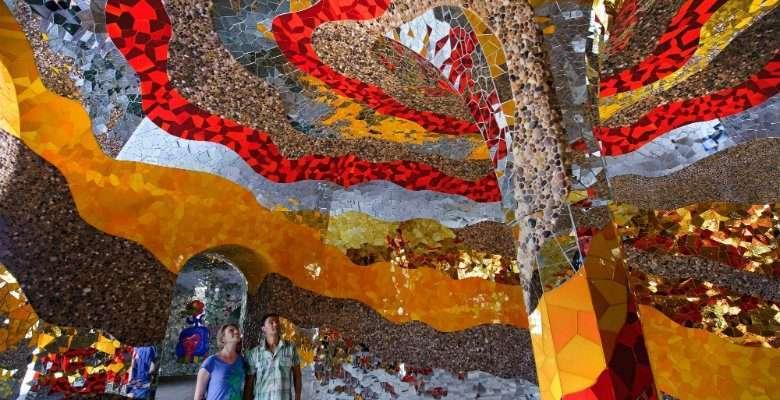 Niki de Saint Phalle. Gruta Herrenhäuser.