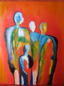 """""""Familia africana"""" de Izabella Degen"""