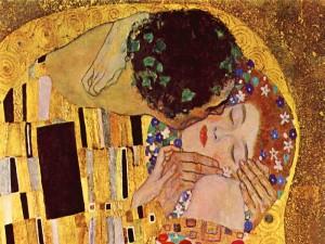 """""""El beso"""" de Gustav Klimt"""