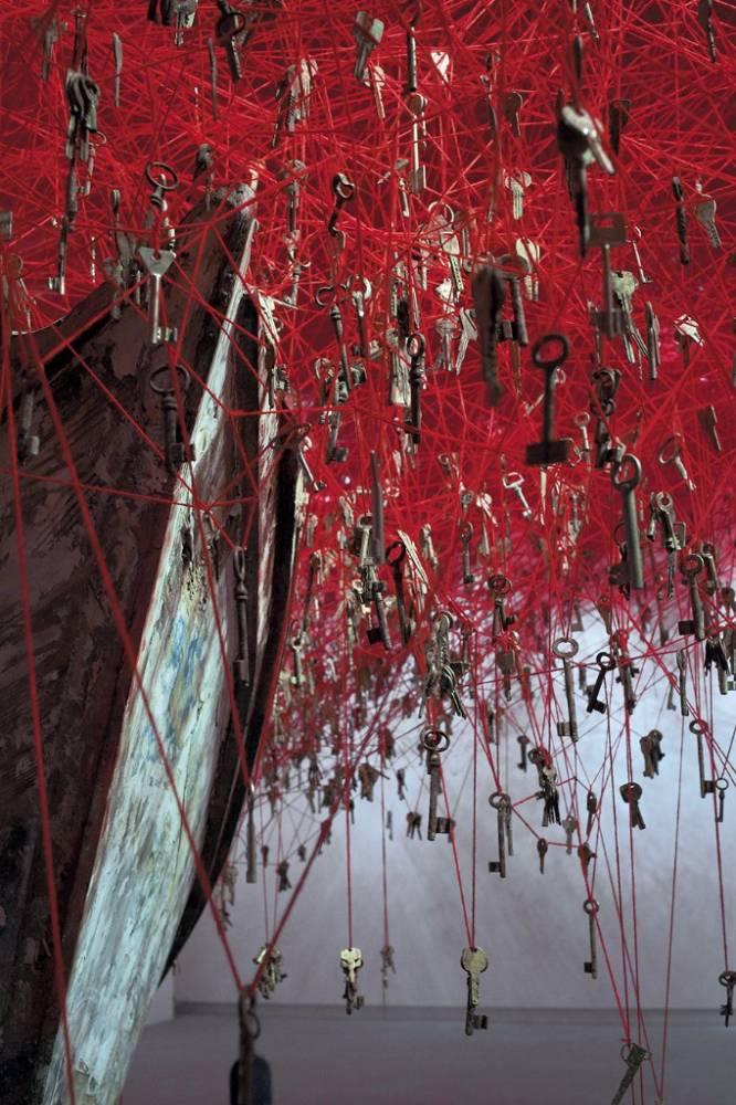Chiharu Shiota.