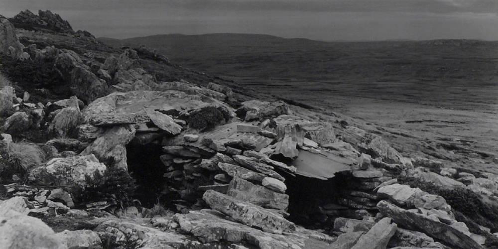 malvinas paisaje  Monte Longdon. Posición argentina
