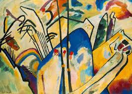 """Kandinsky. """"Composición IV""""."""