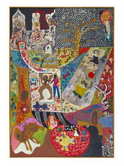 "Niki de Saint Phalle. ""Komposition"""