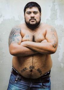 """Ramón Coronel. """"A la muerte te llevás tu tatuaje como una marca personal"""" (*)"""