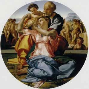 La Sagrada Familia - Miguel Ángel