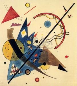 Vassili Kandinsky, Arco y flecha, 1929
