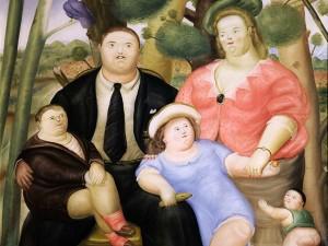 La familia - Fernando Botero