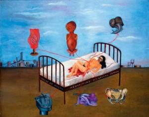 Henry Ford Hospital - Frida Kahlo