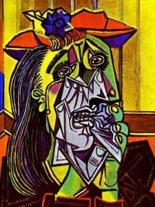 Picasso Pablo,  La mujer que llora, 1937