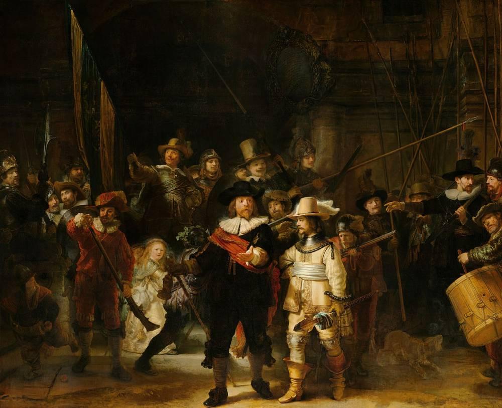 "Rembrandt. ""La ronda nocturna"""