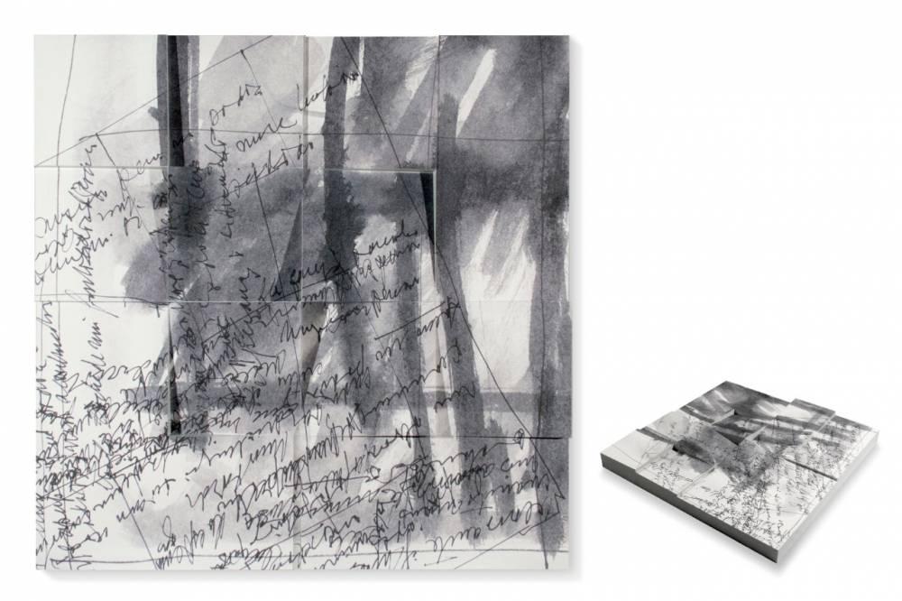 """Mabel Rubli. """"Escrituras V"""", 2009. Fotografía: Julieta Steimberg."""