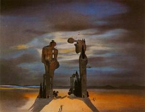 Angelus, Salvador Dalí