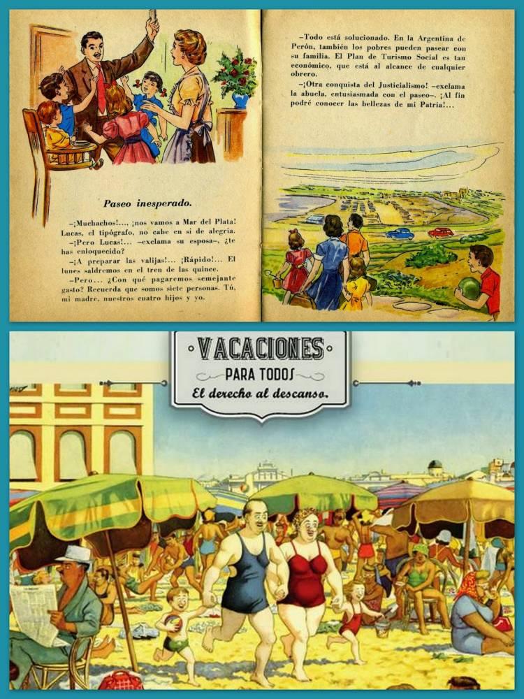 Decreto 1440- Secretaría de Trabajo y Previsión- Perón- Vacaciones pagas