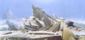 El mar de hielo, Caspar David Friedrich