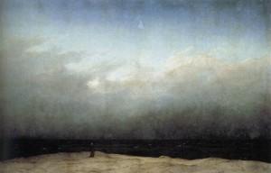 Monje A La Orilla del Mar,Caspar David Friedrich