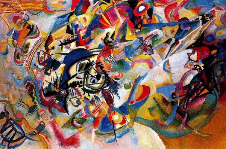 Wasilly kandinsky, Composición VII, 1913