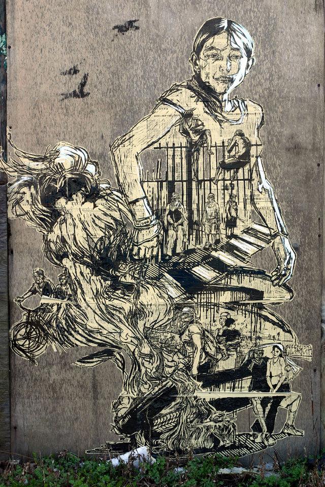 Arte callejero, Swoon